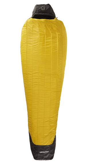 Nordisk Oscar -10° Sleeping Bag XL mustard yellow/black